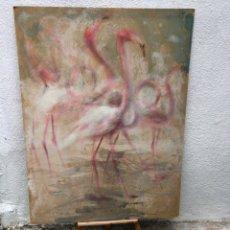 Arte: PRECIOSO ÓLEO SOBRE MADERA FIRMADO Y CONFIRMADO POR EL FAMOSO PINTOR RASIM MICHAELI . 91X117CM. Lote 285628223