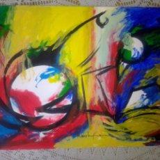 Arte: FIRMADO COMO HANS HOFMANN. Lote 285650928