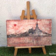 Arte: PRECIOSO ÓLEO SOBRE MADERA FIRMADO Y CONFIRMADO POR EL FAMOSO PINTOR RASIM MICHAELI 55 × 38. Lote 285695118