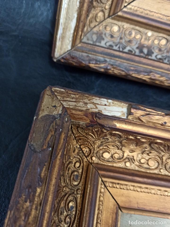 Arte: Bella pareja de óleos sobre tabla. Paisajes. Of - Foto 11 - 286429158