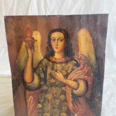 Arte: ÓLEO SOBRE COBRE EN PINTURA COLONIAL CUZQUEÑA, PERU S XVIII. Lote 287006648