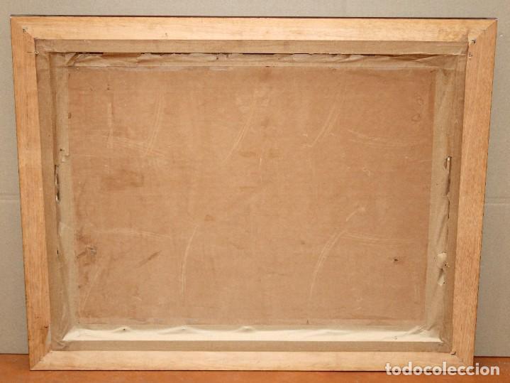 Arte: ISIDRE ODENA DAURA (TERRASSA, 1910 - 2008) OLEO SOBRE TABLA. PAISAJE. 50 X 65 CM. - Foto 8 - 287058148