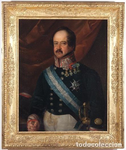 Arte: CARDERERA Y SOLANO, VALENTIN (1796-1880). RETRATOS DE LOS MARQUESES DE MALPICA - Foto 3 - 287102338