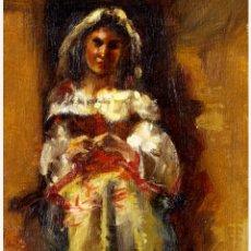 Arte: EDUARDO ROSALES, ÓLEO/TABLA. Lote 287151908