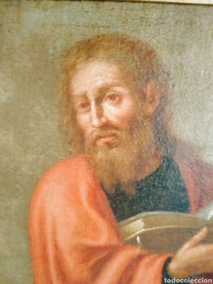 SAN PABLO, OLEO SOBRE LIENZO SIGLO XVII (Arte - Pintura - Pintura al Óleo Antigua siglo XVII)