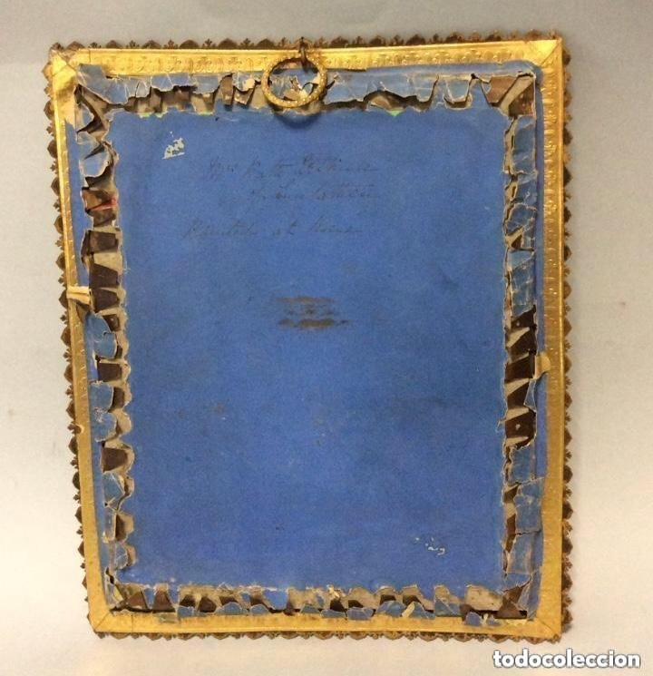 Arte: Miniatura del siglo XIX,Escuela Francesa Firma Ilegible - Foto 4 - 287263228