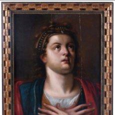 Arte: CÍRCULO DE HENDRICK DE CLERK (1570-1620) SANTA MARÍA MAGDALENA.. Lote 287368468