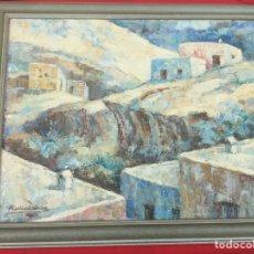 Arte: ÓLEO ANTONIO ROBLES CABRERA. Lote 287490168