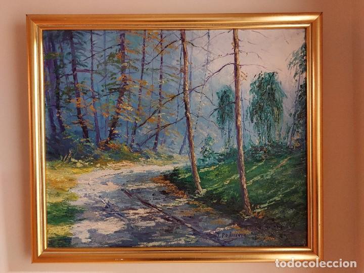 OLEO JOSEP RODRÍGUEZ (Arte - Pintura - Pintura al Óleo Moderna sin fecha definida)
