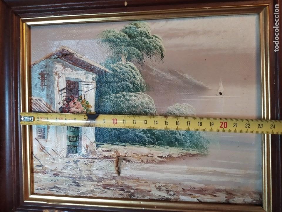 Arte: ÓLEO SOBRE LIENZO ENMARCADO PAISAJE PRADO MASÍA CASA SIN FIRMA APARENTE SE AGRADECE INFORMACIÓN - Foto 20 - 287588368