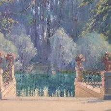 Art: PINTURA AL OLEO SOBRE LIENZO ,FIRMADA JOSE NAVARRETE OPPELT MALAGA 1872-1939. Lote 287635648