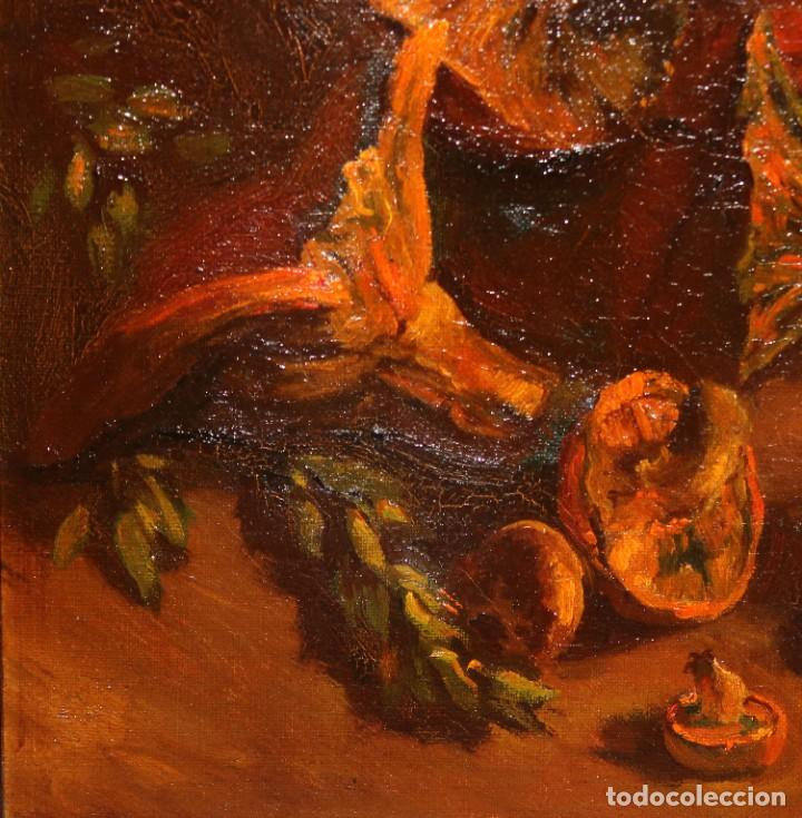 Arte: ANTONI VIDAL ROLLAND (1889 - 1970) OLEO SOBRE TELA. NATURALEZA MUERTA. 46 X 54 CM. - Foto 4 - 287655453