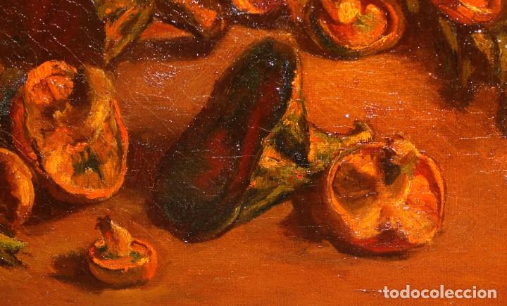 Arte: ANTONI VIDAL ROLLAND (1889 - 1970) OLEO SOBRE TELA. NATURALEZA MUERTA. 46 X 54 CM. - Foto 5 - 287655453