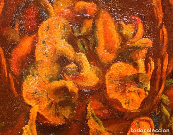 Arte: ANTONI VIDAL ROLLAND (1889 - 1970) OLEO SOBRE TELA. NATURALEZA MUERTA. 46 X 54 CM. - Foto 6 - 287655453