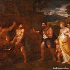 Arte: PINTURA MITOLÓGICA ITALIANA ANTIGUA DEL SIGLO XVII. Lote 287717398
