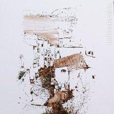 Arte: DIBUJO A TINTA Y ACUARELA - MENORCA - DEL PINTOR CATALÁN - JOSEP MARFA - BARCELONA-. Lote 287737338