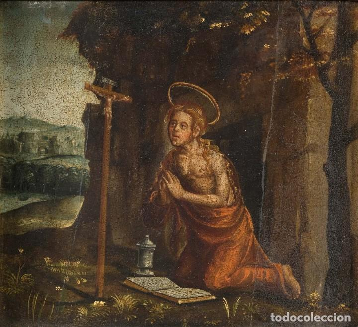 ÓLEO SOBRE TABLA MARIA MAGDALENA SIGLO XVI (Arte - Pintura - Pintura al Óleo Antigua siglo XVI)