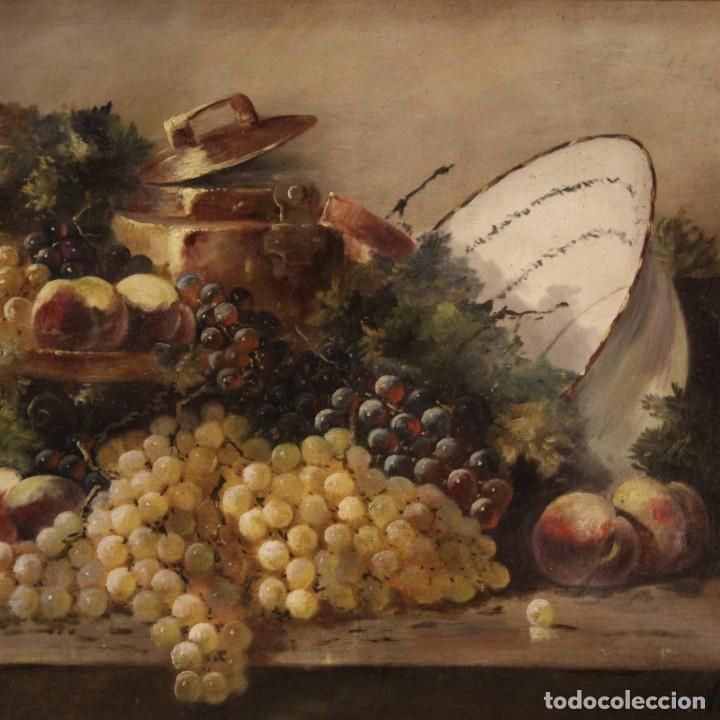 Arte: Bodegón francés antiguo del siglo XIX. - Foto 2 - 287854503