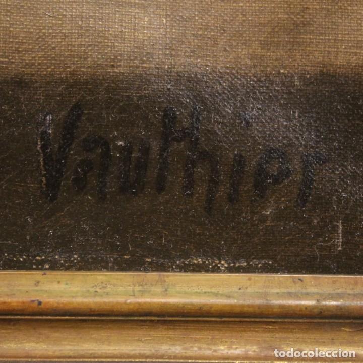 Arte: Bodegón francés antiguo del siglo XIX. - Foto 3 - 287854503