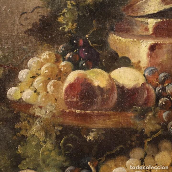 Arte: Bodegón francés antiguo del siglo XIX. - Foto 4 - 287854503