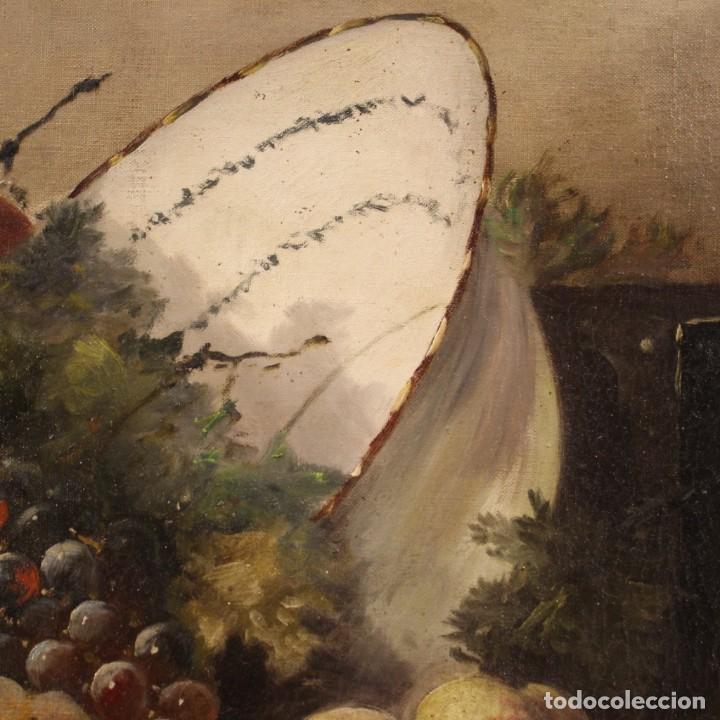 Arte: Bodegón francés antiguo del siglo XIX. - Foto 6 - 287854503