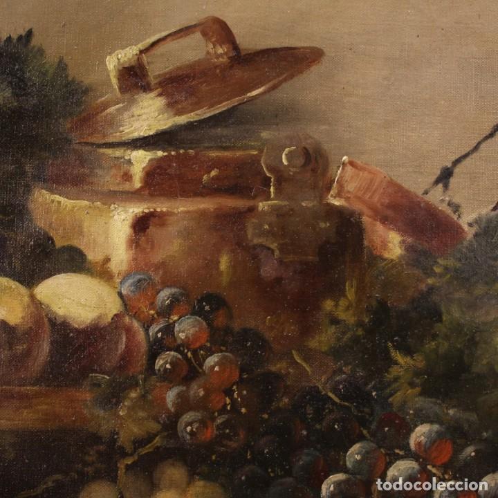 Arte: Bodegón francés antiguo del siglo XIX. - Foto 7 - 287854503