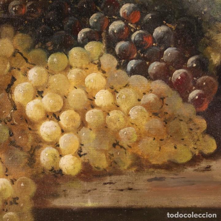 Arte: Bodegón francés antiguo del siglo XIX. - Foto 9 - 287854503
