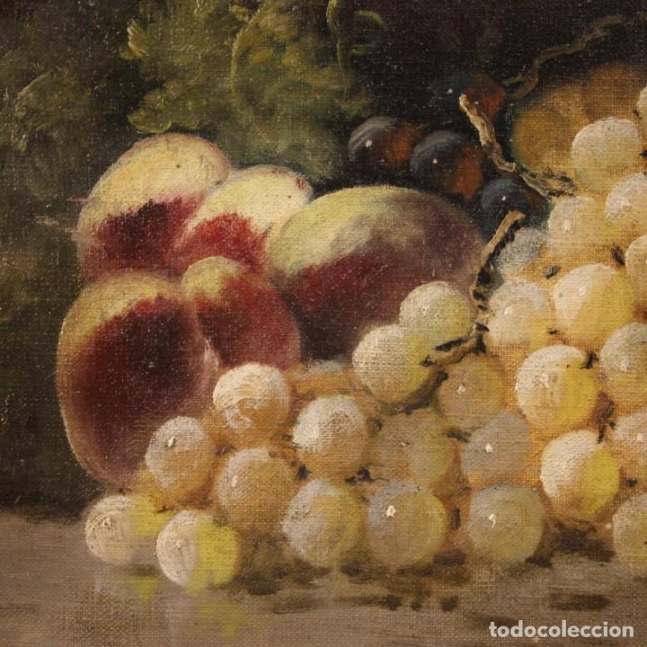 Arte: Bodegón francés antiguo del siglo XIX. - Foto 10 - 287854503