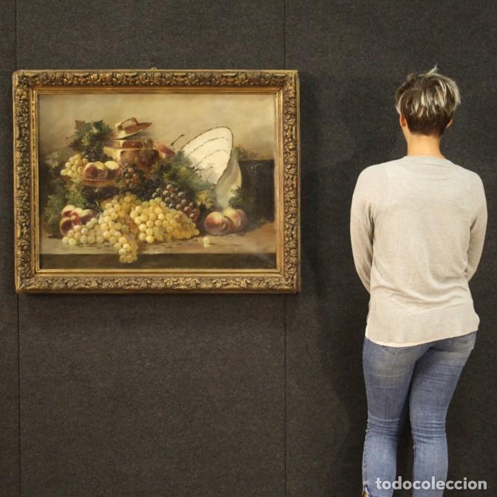 Arte: Bodegón francés antiguo del siglo XIX. - Foto 12 - 287854503