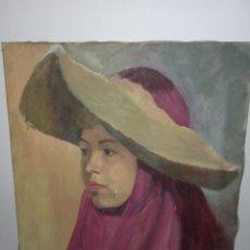 Arte: ANTIGUO RETRATO DEL S.XIX. Lote 287929203