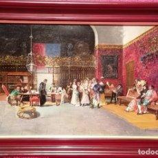 Arte: LA VICARIA. COPIA DE CUADRO DE FORTUNY. Lote 288115848