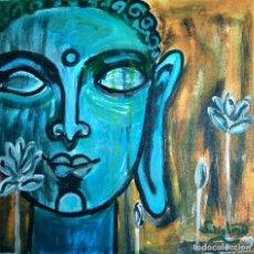 Arte: PINTURA DE BUDA, ACRÍLICO. FIRMADO.. Lote 288124463