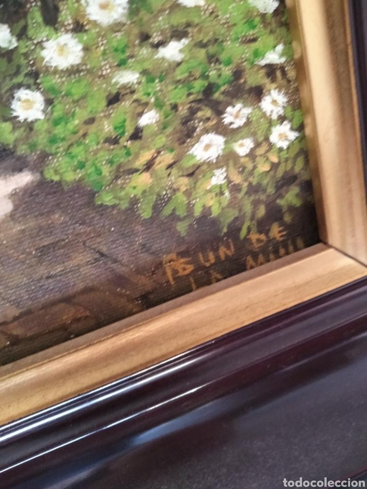 Arte: Pareja óleos sobre lienzo firma Asun - Foto 4 - 288158788