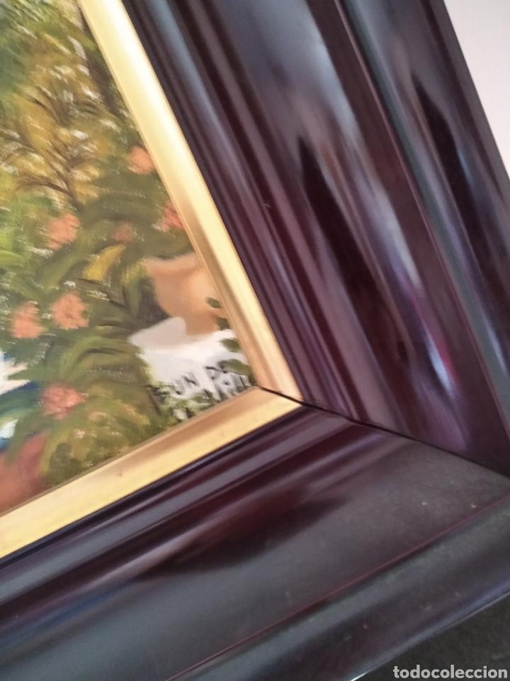 Arte: Pareja óleos sobre lienzo firma Asun - Foto 5 - 288158788