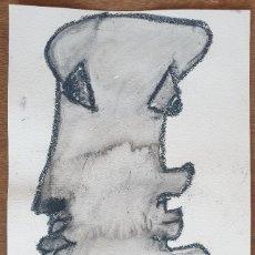 Arte: PEINTURE (26CM X 36CM) LAVIS SUR PAPIER - SIGNÉ TURCO 2021 (3). Lote 288307383