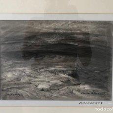 "Arte: MARTÍN BETHENCOURT. ""SALADARES"". 93. Lote 288456528"
