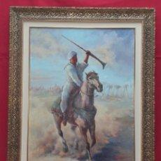 Arte: GRAN ÓLEO SOBRE LIENZO FIRMADO CARRERAS H. AÑO 89. Lote 288619123