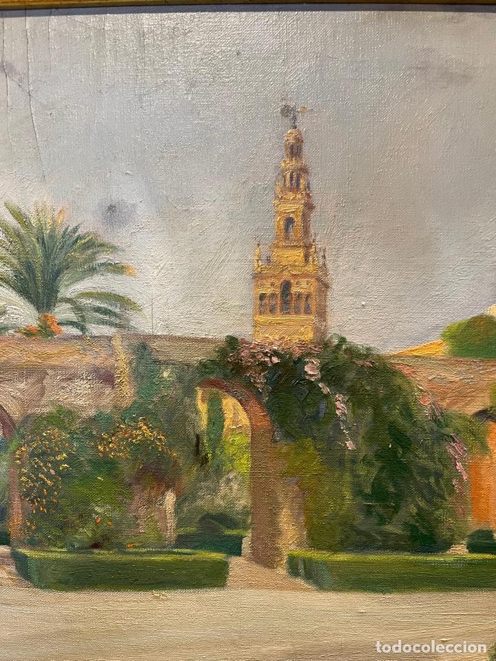 CUADRO SEVILLANO (Arte - Pintura - Pintura al Óleo Moderna sin fecha definida)