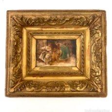 Arte: FERDINAND ROYBET - 1840 - 1920 - FIRMADO EN 1893 - ÓLEO SOBRE TABLA. Lote 289217253