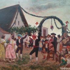 Arte: PINTURA COSTUMBRISTA ESCUELA VALENCIANA XIX. Lote 289244148