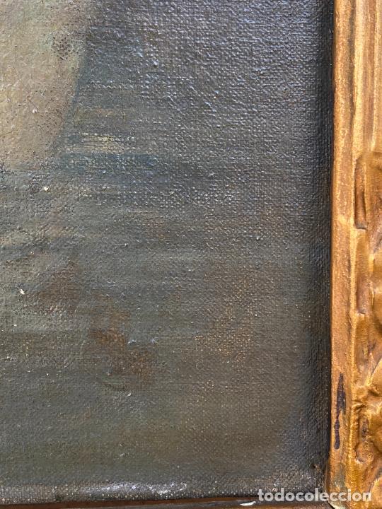 Arte: Albert Auguste Fourié , pintura al óleo sobre lienzo , french artist , - Foto 2 - 289411048