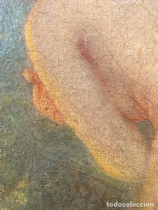 Arte: Albert Auguste Fourié , pintura al óleo sobre lienzo , french artist , - Foto 4 - 289411048