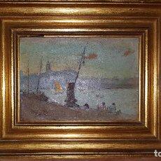 Arte: OLÉO SOBRE CARTON. SIGLO XIX-XX. Lote 289898403