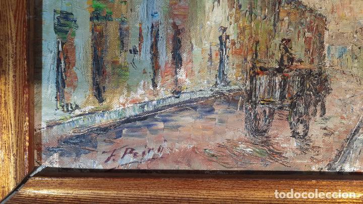 Arte: francisco peiro martin 1912 -2002 oleo lienzo - Foto 2 - 291398343