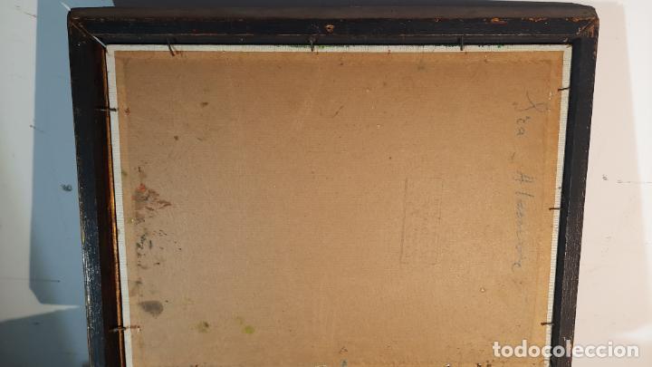 Arte: francisco peiro martin 1912 -2002 oleo lienzo - Foto 5 - 291398343