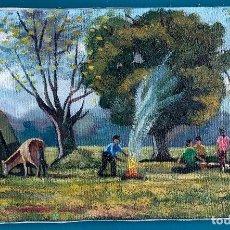 Arte: PERE PLA PARÉS. ÓLEO SOBRE TELA CON MEDIDAS 46 X 27. FIRMADO Y CERTIFICADO. Lote 292131353