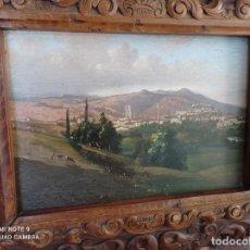 Arte: FRANCOIS GUIGUET. OLEO SOBRE TABLA DEL PINTOR FRANCÉS FRANCOIS GUIGUET 1860-1937. Lote 292399008