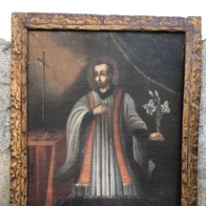 Arte: CUADRO OLEO SOBRE LIENZO S.XVIII. Lote 293203018