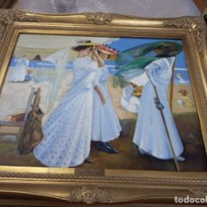 Arte: PINTURAS EN OLEO DE JOAQUIN SOROLLA. Lote 293276828