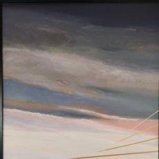 Arte: JOSE ALVAREZ NIEBLA. ABSTRACTO. ÓLEO SOBRE LIENZO. 1973.. Lote 293331633